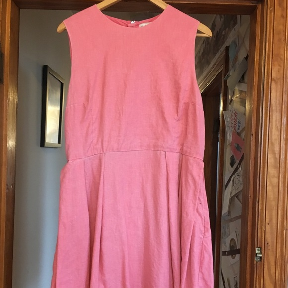 GAP Dresses & Skirts - Adorable Pink Gap Fit and Flare Dress - Size 14